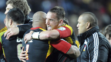 Aaron Cruden is back for the Chiefs.