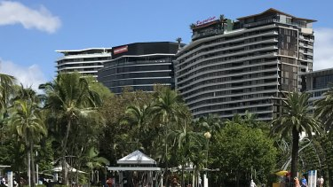 Virgin Australia Airlines is shifting its staff to five floors of the 15-storey Flight Centre building in Grey Street, South Brisbane, from September.