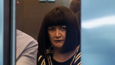 Rugby Australia boss Raelene Castle arrives at the Fair Work Commission