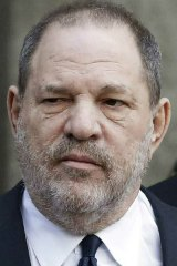 Harvey Weinstein leaves court in New York in 2018.