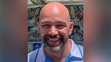 Elite swimming coach Matthew King.
