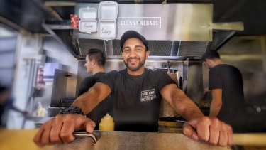 Glenny Kebabs is open once more with owner Asad Syed at the helm.