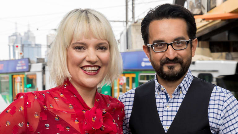 Jacinta Parsons and Sami Shah replaced ABC Melbourne's breakfast host, Red Symons.