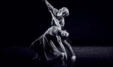 Maggie Wilson and Ronald van den Burgh in Taylor's 1980 work Transfigured Night.
