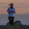 Amid birds that sound like crying babies, a 'bravery coach' tackles an unlikely 1600km running race