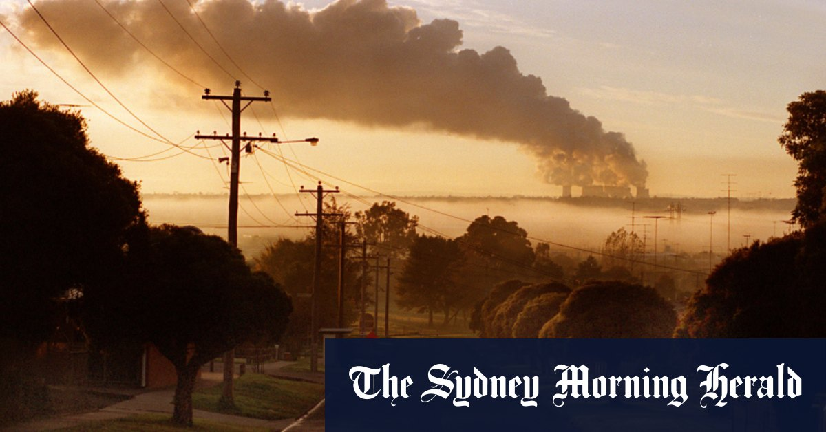 Victoria makes pledge to cut carbon emissions in half by 2030 – The Sydney Morning Herald