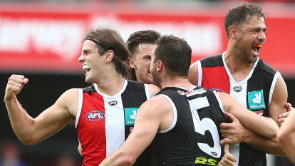 Saints surge to put sting in dour contest and grab victory