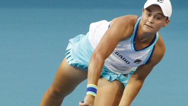 Ash Barty is in the form of her career.