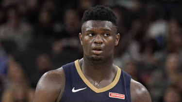 Zion Williamson, who has had a number of recent knee issues, will miss the start of his rookie campaign.