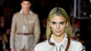 In case you missed it ... Kendall Jenner went blonde for Burberry.
