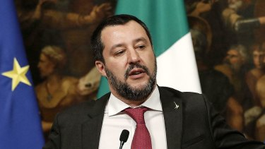 Italy's populist government, driven by deputy premier Matteo Salvini,, has taken a hard line against unregulated migration.