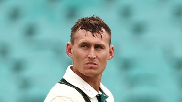 Test batsman Marnus Labuschagne was mocked for his eccentric mannerisms by Shane Warne and Andrew Symonds.