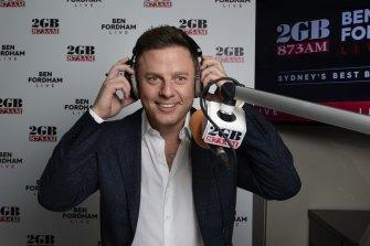 2GB's Ben Fordham remains dominant in Sydney breakfast radio.