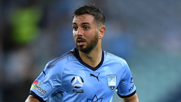 Sydney FC defender Michael Zullo is in line to make his return from injury against Melbourne Victory.