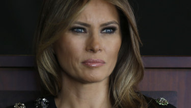US first lady Melania Trump is ''doing great'', according to her husband.
