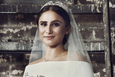 Spotlight seamstresses Elizabeth Alexandrou and Tessa Rankin replicated Meghan Markle's dress, but would you wear this second hand?