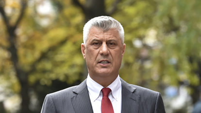 Former Kosovo president to face war crimes judges next week