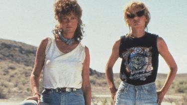 Thelma and Louise starring Gina Davis and Susan Sarandon.