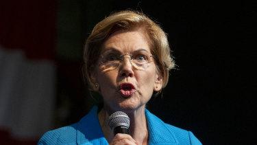 US Senator Elizabeth Warren.