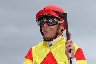 Jockey Michael Dee.