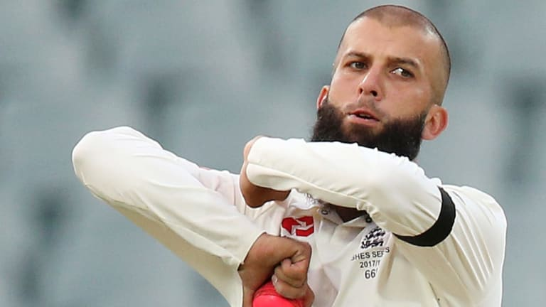 Allegation: England's Moeen Ali has claimed he was racially abused by an unnamed Australian player during the 2015 Ashes.
