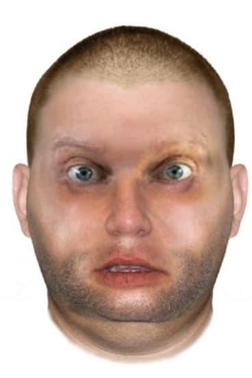 A computer-generated image of the man police believe responsible for the rape in 2015.