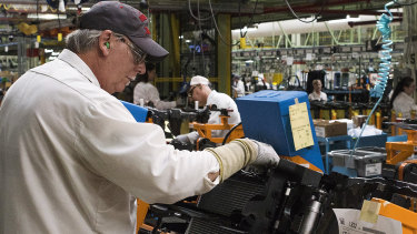 Worrying factory data has raised concerns about the state of the US economy.