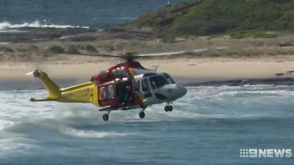 Rock fisher saved by lifeguards on jetskis as experts declare safety laws a failure