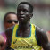 Australia's Peter Bol (right) broke the national record for the 800m in his heat at the Tokyo Olympics.