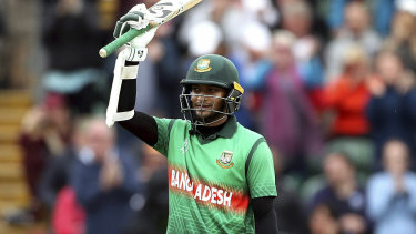Shakib Al Hasan has starred for Bangaldesh at the World Cup.
