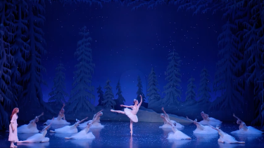 Queensland Ballet dancers trained to perform The Nutcracker for audiences in person before the pandemic struck.