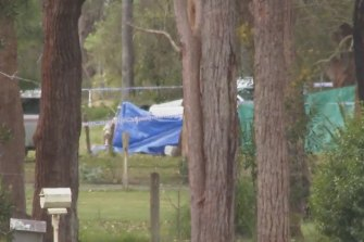 A homicide investigation is under way after a man was fatally shot at Port Stephens on Sunday.