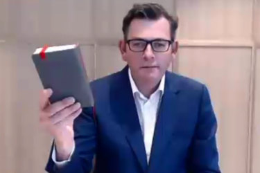 'Those mistakes are unacceptable to me': Andrews issues unreserved apology to Victorians