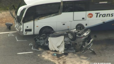 Two tourists died in the latest deadly crash on Indian Ocean Drive.