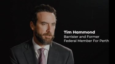 Former Perth MP Tim Hammond has spoken out against draft euthanasia laws set to be debated in the Legislative Council on Tuesday.