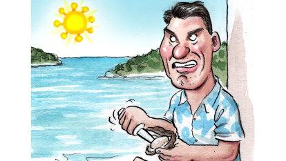 Cory Bernardi's clam shack quarantine after weekend getaway