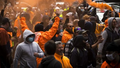 Inside the insurrection: Why construction workers took to the street