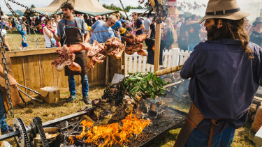 The Fire Pit at Feast in the Valley will be smoking all weekend with celebrity chefs, wine tasting and DJs.