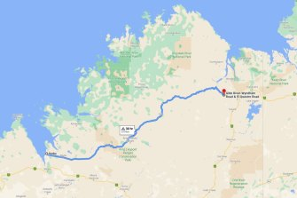 Cyclists will travel 660km route along the Gibb River Road.