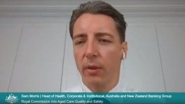 Sam Morris, Australia and NZ Banking Group.