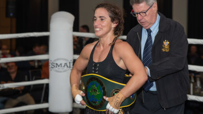 Bianca Elmir claims Australian boxing crown