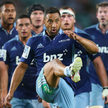 Benji Marshall didn't have much success during his time with the Auckland Blues during the 2013 Super Rugby season.