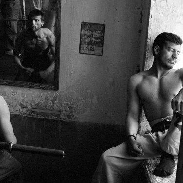 Gym, Kabul, 1995.