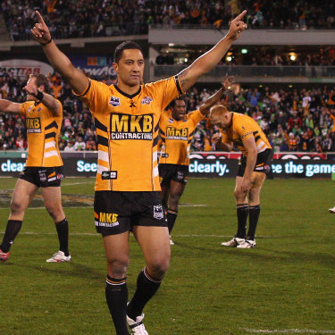 Benji Marshall set the competition alight in 2010.