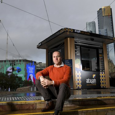 Ben Armstrong opened Atiyah in Fed Square in November. He is now in his third lockdown.