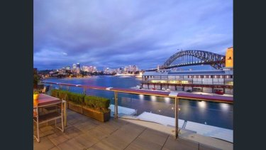 John McGrath has sold his Walsh Bay apartment for an estimated $8.5 million.
