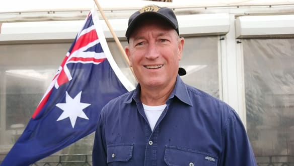 Let's hope Fraser Anning soon returns to the obscurity he deserves