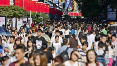 Fresh figures out of China show its economy continues to falter.