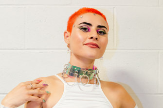 Australia's hope Montaigne will be competing in Eurovision remotely.