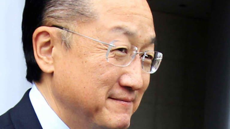 World Bank boss Jim Yong Kim